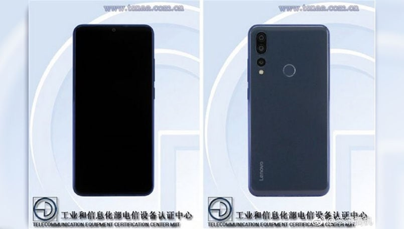 Lenovo Z5s with in-screen camera to launch on December 6