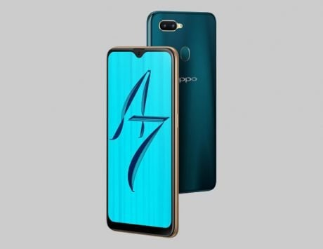 Oppo A7 launched in India for Rs 16,990