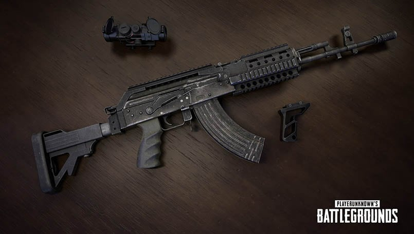 From Groza to M16A4: All PUBG Assault Rifles ranked