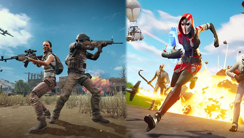 PUBG Mobile has finally caught up with Fortnite in player numbers