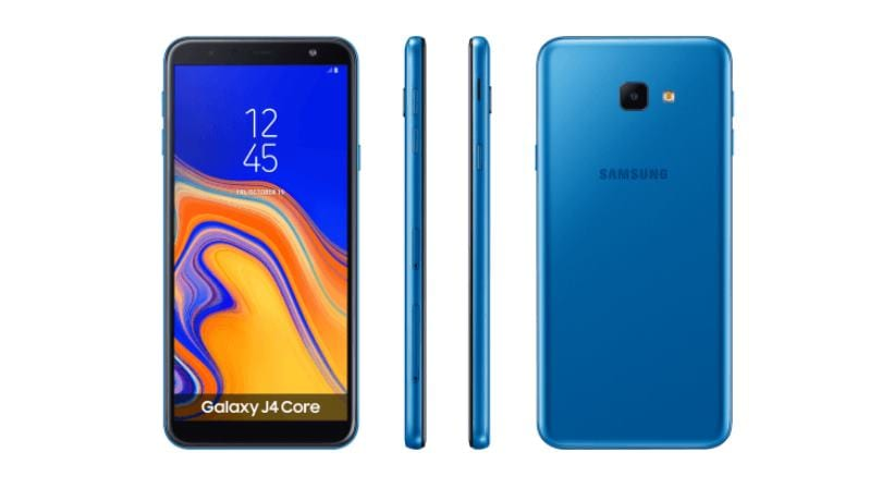 Samsung Galaxy J4 Core Android Go details leaked; launch could be very near