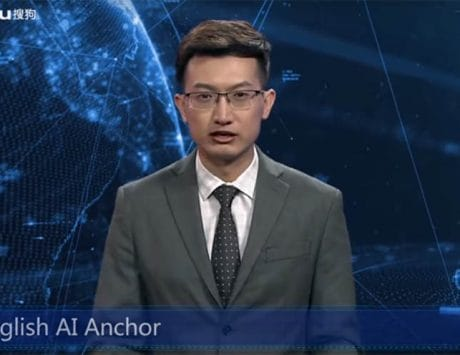 China just got its first virtual TV news anchor: Watch video