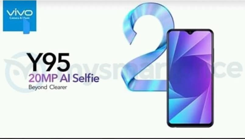 Vivo Y95 leaked retail box and promo images reveal key