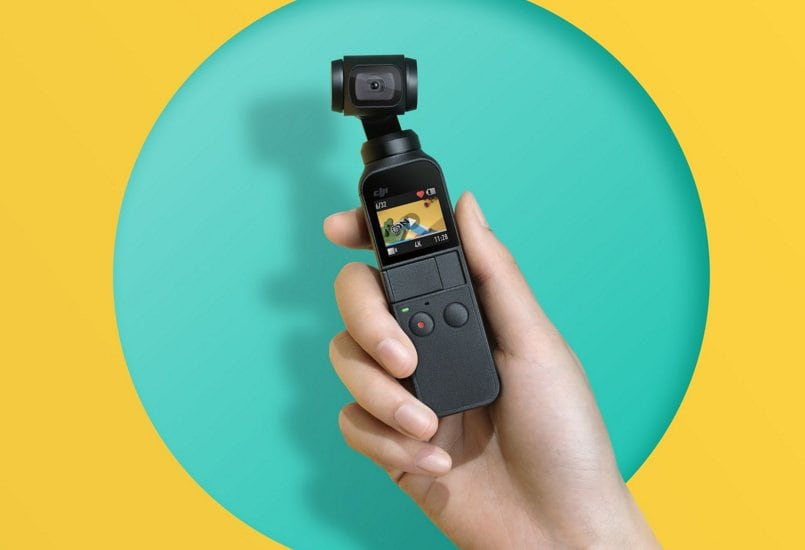 DJI Osmo Pocket launched; a miniature hand-held Gimbal that can shoot 4k videos