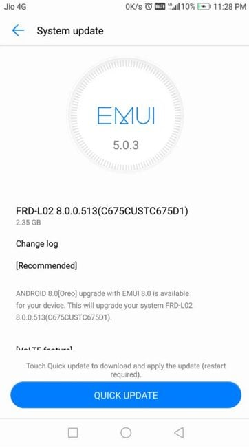 Honor 8 EMUI 8 0 update based on Android 8 0 Oreo rolling out in