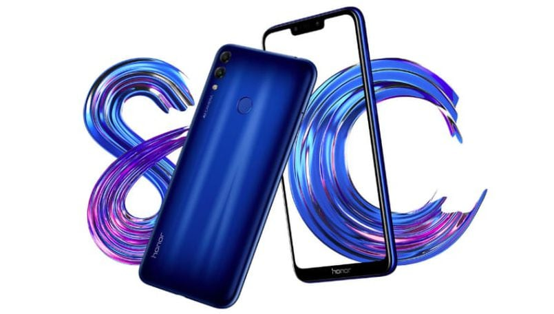 Honor 8C India launch highlights: Rivals Realme U1 with a starting price of Rs 11,999