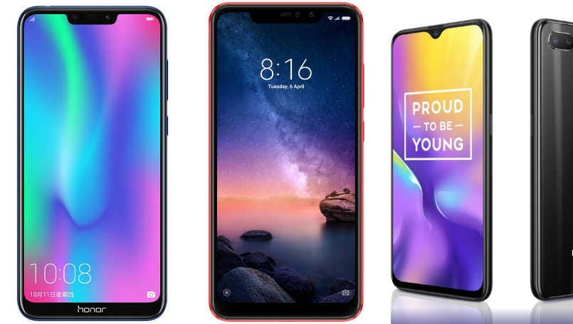 Honor 8C vs Xiaomi Redmi Note 6 Pro vs Realme U1: Price, specifications compared