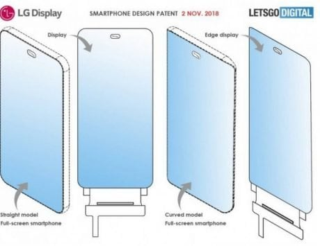 LG files patent for smartphones with under-display front camera(s)