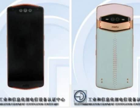 Meitu MP1801 spotted on TENAA with three front cameras