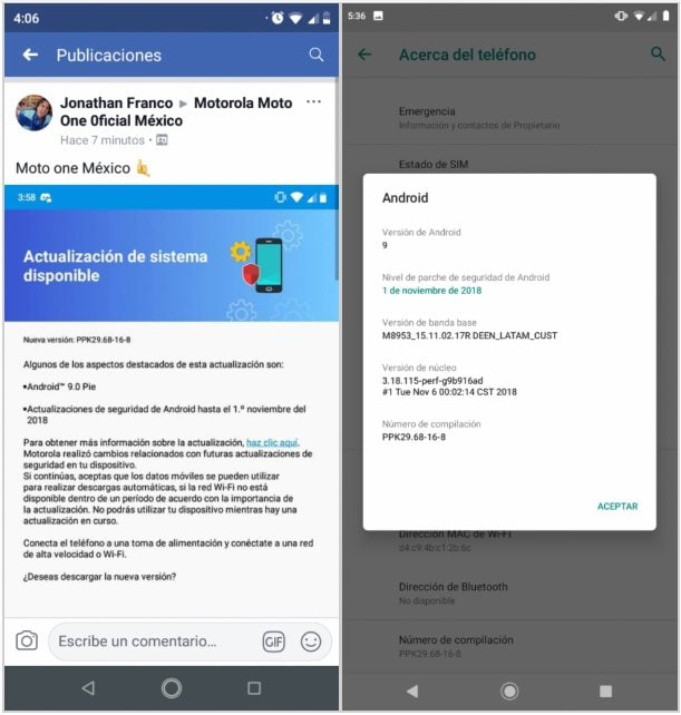 Motorola One Android 9 Pie update starts rolling out | BGR India