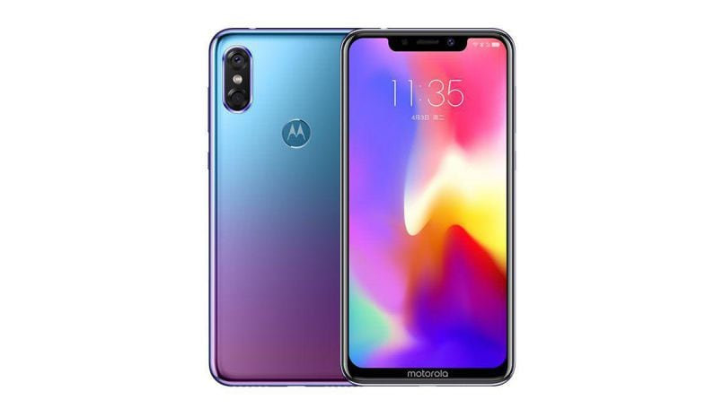 Motorola P30 Aurora Gradient color variant with 128GB storage launched in China