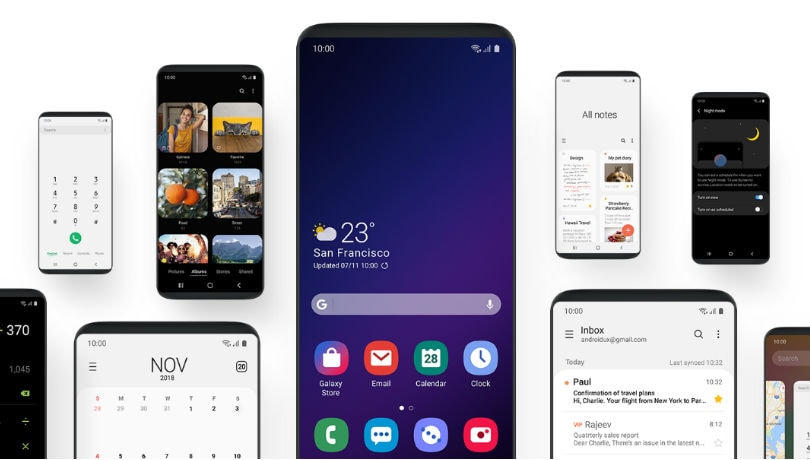 Samsung Android 9 Pie beta with One UI for Galaxy S9, Note 9 coming this month; official release in January