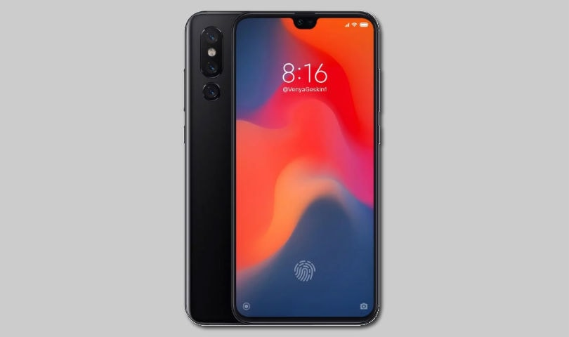 Xiaomi Mi 9 concept hints at a smaller notch, in-display fingerprint scanner and triple cameras