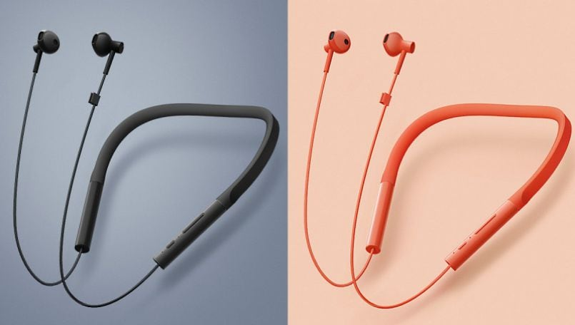 Xiaomi launches wireless Necklace Bluetooth headphones in China with fast charging