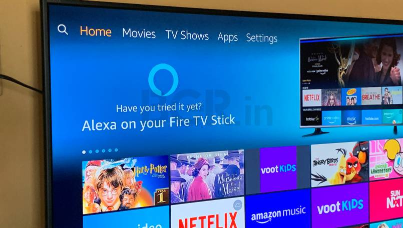 Alexa on Fire TV stick offer voice support for Netflix, Disney+ Hotstar