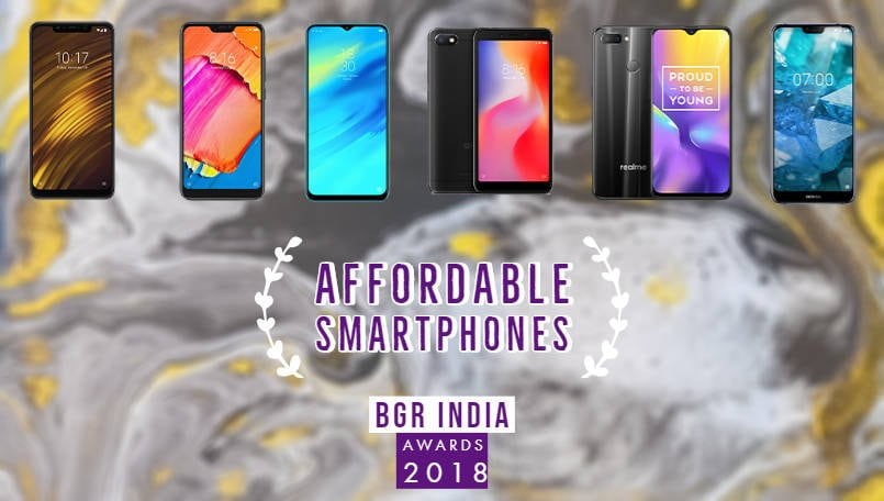 BGR India Awards 2018: Best affordable smartphones of the year