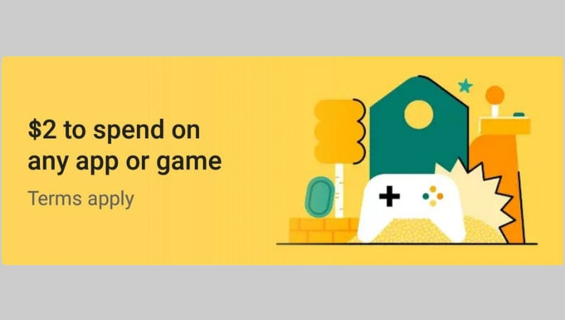Google Play Store offering free credit to some users, can be