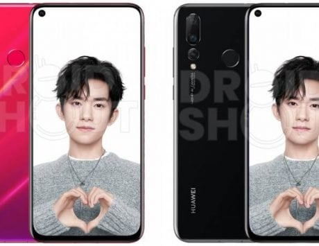 Huawei Nova 4 leaked render shows its in-screen camera