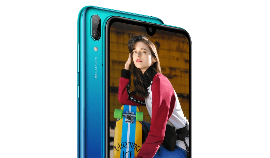 Huawei Y7 (2019) full specifications and renders leaked