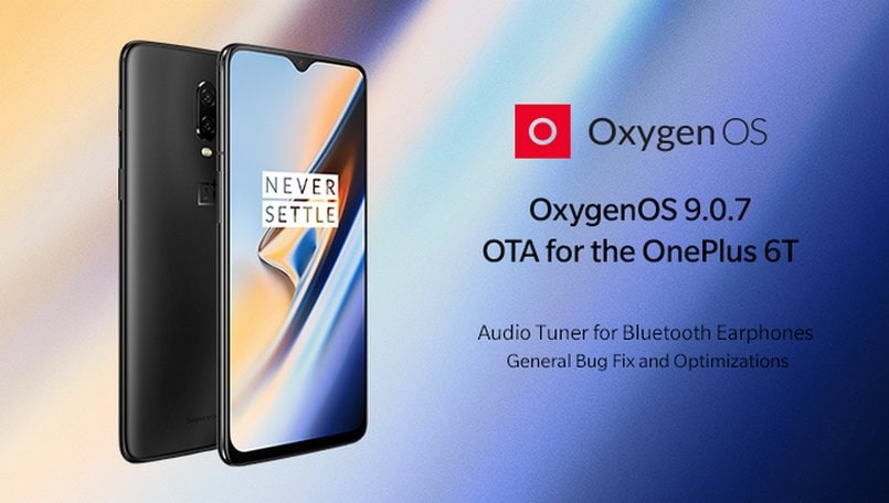 OxygenOS 9.0.7 for OnePlus 6T starts rolling out with camera, display, and audio improvements