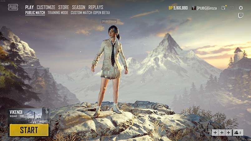 pubg update 24 introduces vikendi snow map and weather. Black Bedroom Furniture Sets. Home Design Ideas