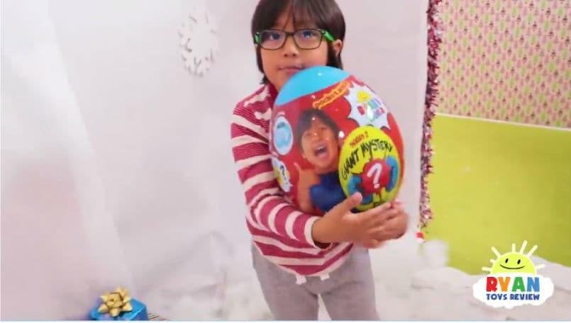 Ryan ToysReview    earned about  22 million