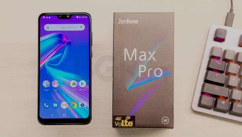Asus Zenfone Max Pro M1, Zenfone Max Pro M2 and Zenfone Max M2 to get Android Pie by April 15