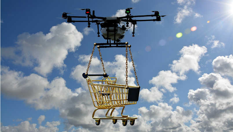 Zomato acquires TechEagle Innovations for drone-based delivery in India