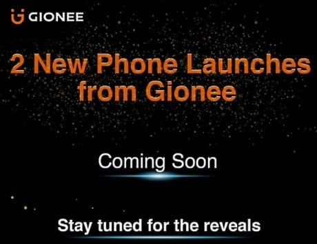 Gionee India teases two new smartphone launches on Flipkart