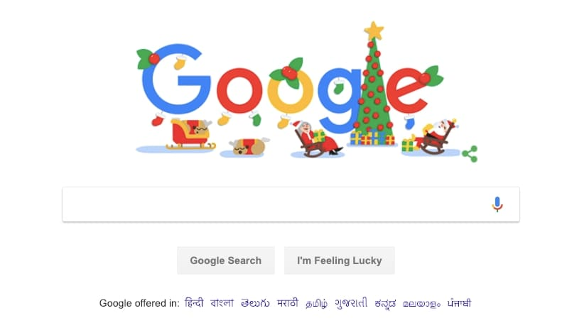 Christmas 2018: Google wishes Happy Holidays with an animated doodle