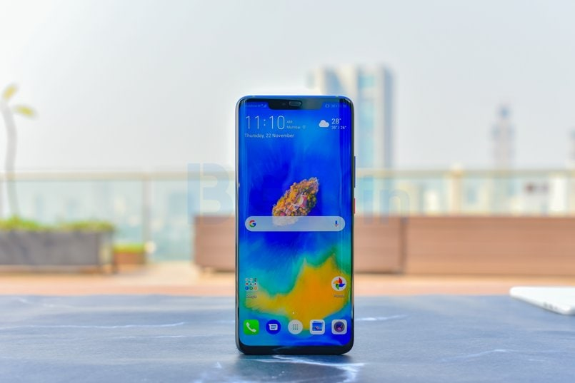 Huawei Mate 20 Pro, Mate 20 X update adds AI color mode to photos