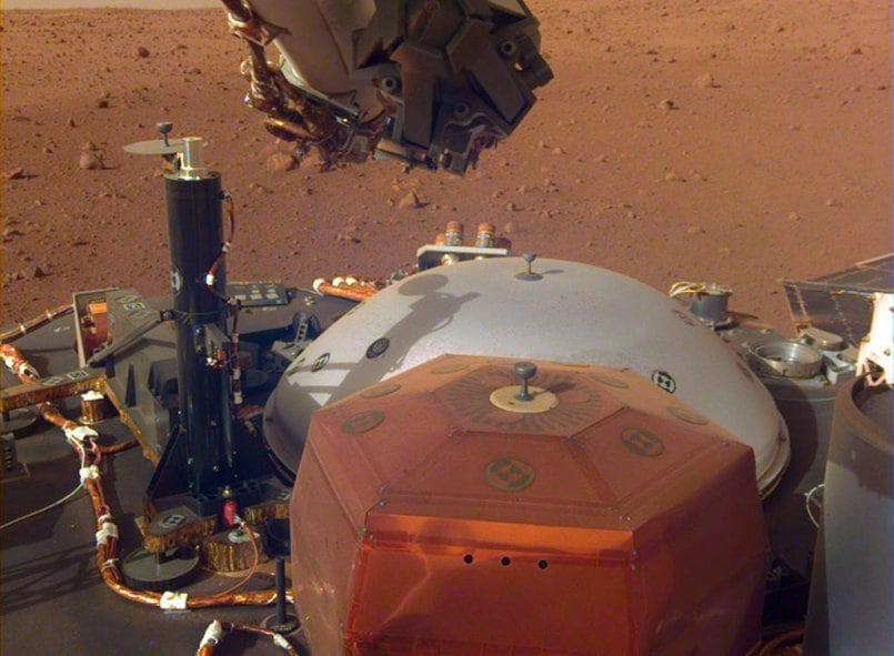 Listen to what wind sounds like on Mars courtesy of NASA's Insight lander