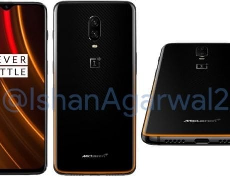 OnePlus 6T McLaren Edition Speed Orange renders leaked