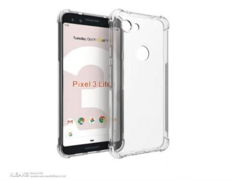 Google Pixel 3 Lite case renders leaked, shows off a slightly different phone design