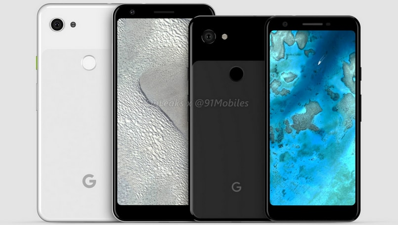 Google Pixel 3 'Lite', Pixel 3 XL 'Lite' surface in renders, may come with 3.5mm audio port