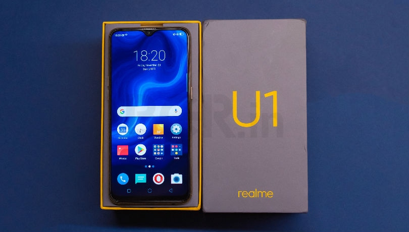 Realme U1 now available offline in 2,500 stores across 30 cities with some launch offers