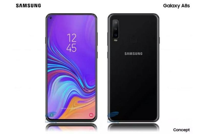 Samsung Galaxy A8s with Infinity-O Display launching on December 10 ahead of Huawei Nova 4