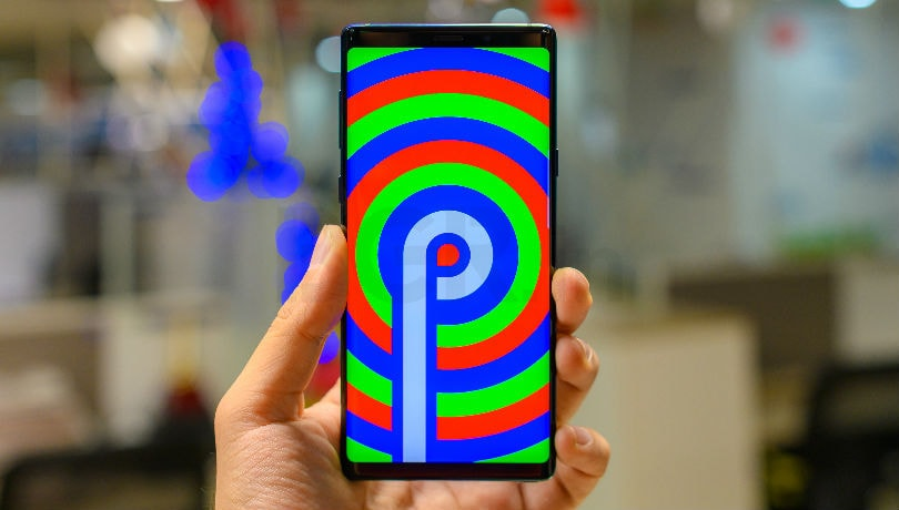 Samsung Galaxy A8 (2018) running Android Pie spotted online