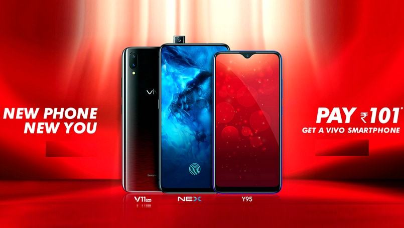 How to buy Vivo NEX, V11 Pro and other Vivo smartphones for Rs 101