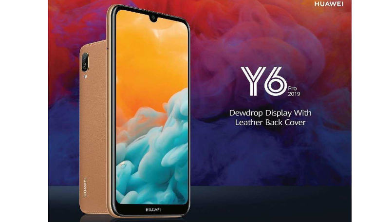 Huawei Y6 Pro 2019 With Leather Back Launched In Sri Lanka