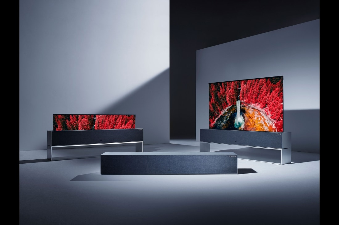 CES 2019: LG announces rollable futuristic OLED TV, 88-inch 8K OLED panel with built-in sound