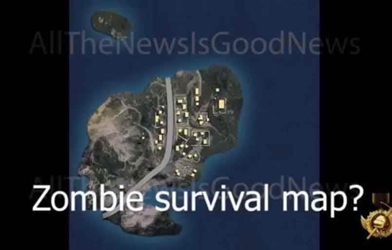 PUBG Mobile Zombie Mode map has been leaked