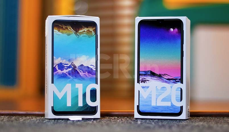 Image result for samsung galaxy m10 and m20