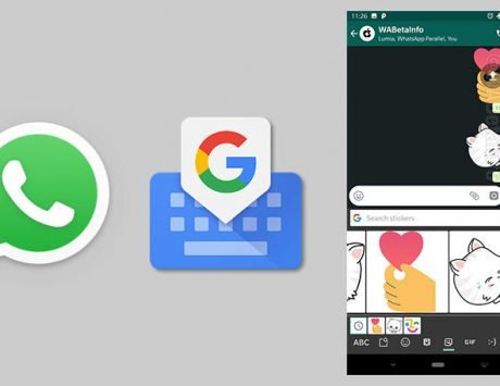 WhatsApp developing sticker integration with third-party keyboards like Google Gboard