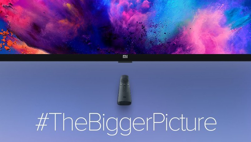 Xiaomi teases a new Mi TV launch in India; could be the 75-inch Mi TV 4S