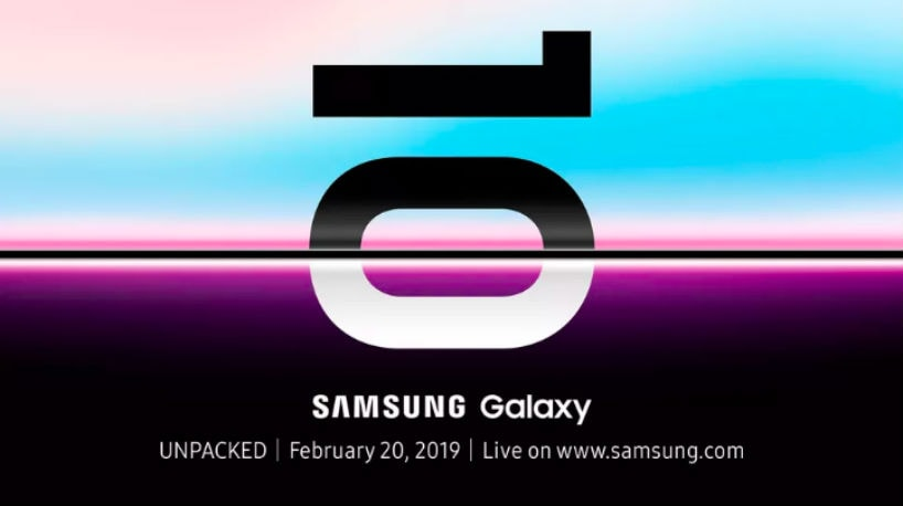 Samsung Galaxy S10 global unveiling set for February 20