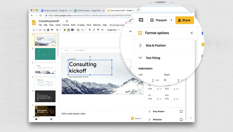 Google Docs, Slides, Sheets, and Sites updated with 'Material Design' UI refresh