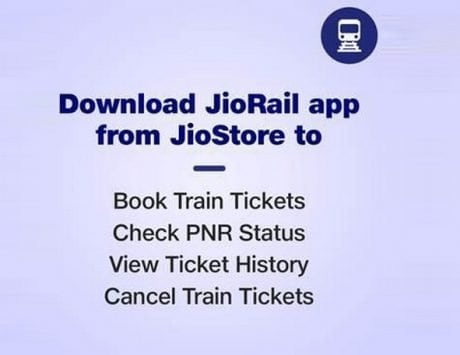 JioRail app launched for JioPhone and JioPhone 2