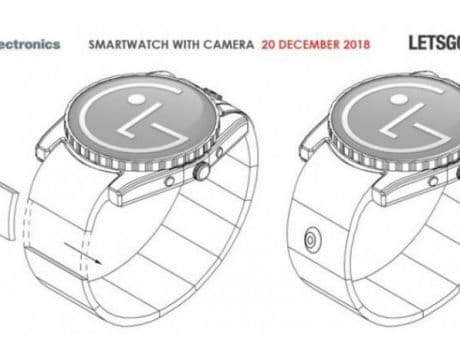 LG patents a smartwatch with camera; outlines real-world applications