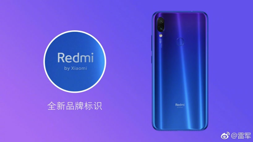 Xiaomi CEO Lei Jun reveals new logo for the 'Redmi' sub-brand ahead of Redmi Note 7 launch today